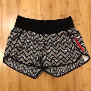 *rare print* Lululemon Seawheeze tracker shorts